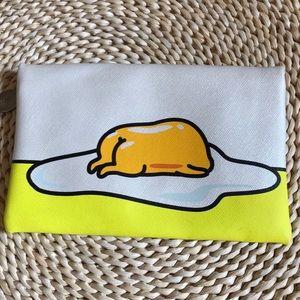 Gudetama Lazy Egg make up bag